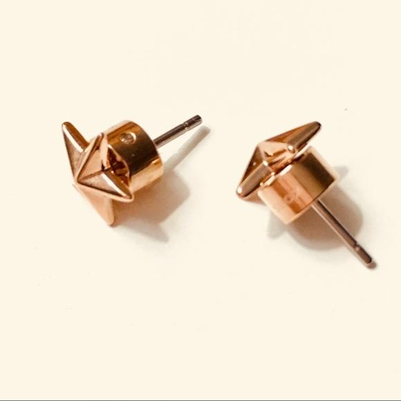 e4ac7980d Michael Kors Jewelry   Mk Star Earrings In Rose Gold   Poshmark
